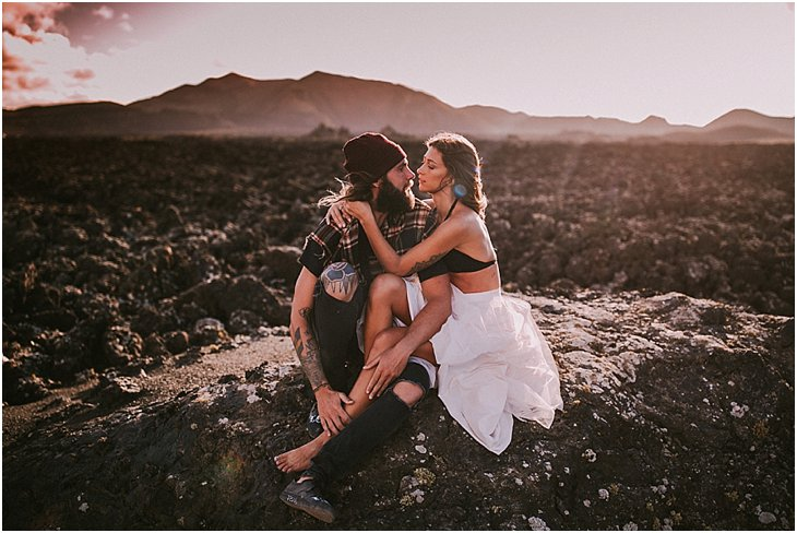 Cool Engagement Shoot Canary Islands