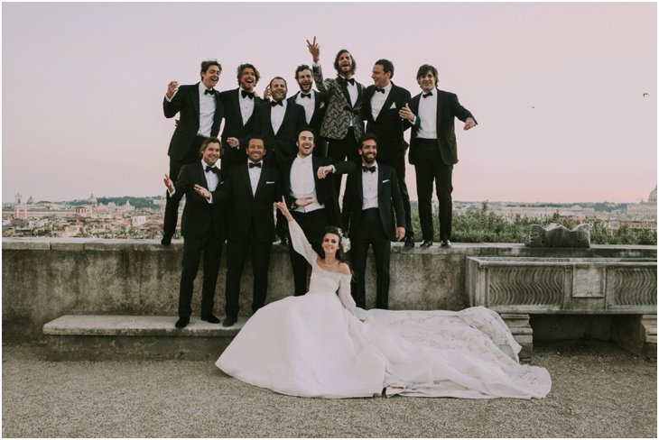 Rome Wedding Destination Villa Medici