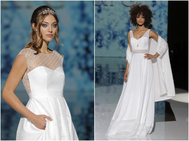 The newest bridal fashion trends at Barcelona Bridal Week 2017