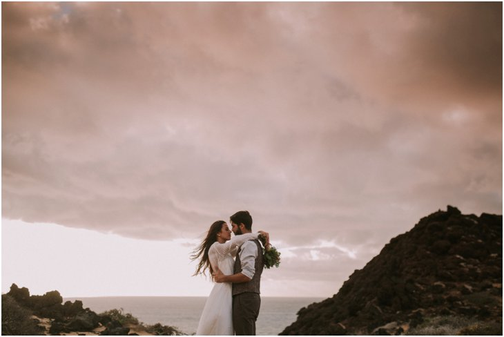Sunset Shoot Canary Islands Couple