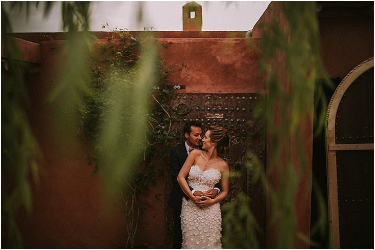 bride and groom portraits Kasbah Bab Ourika