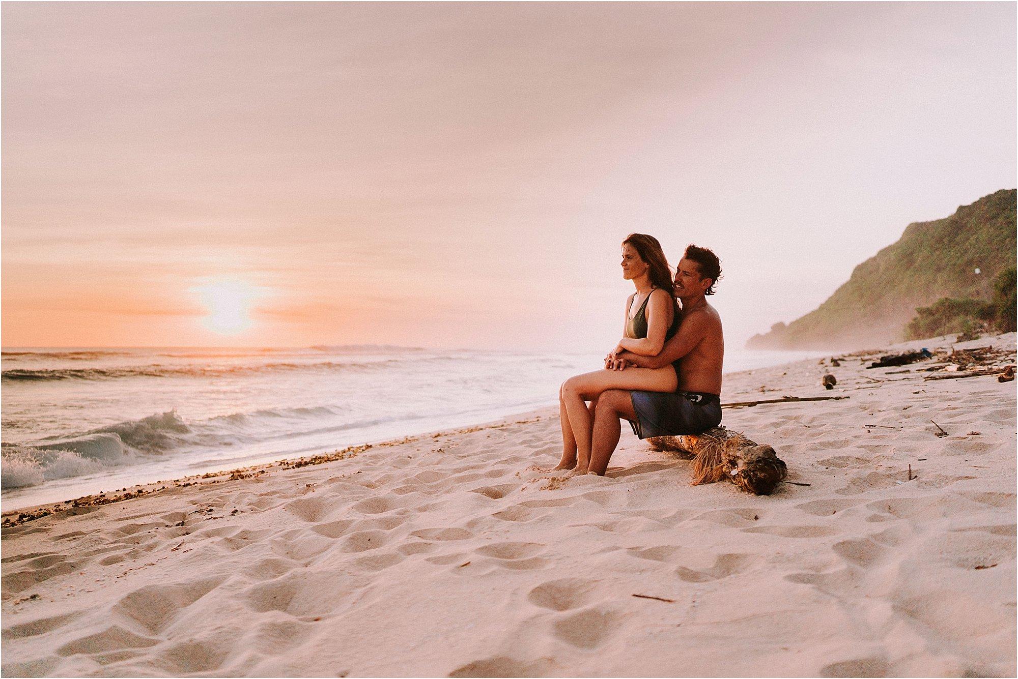 Bali sunset session at Nyang Nyang beach