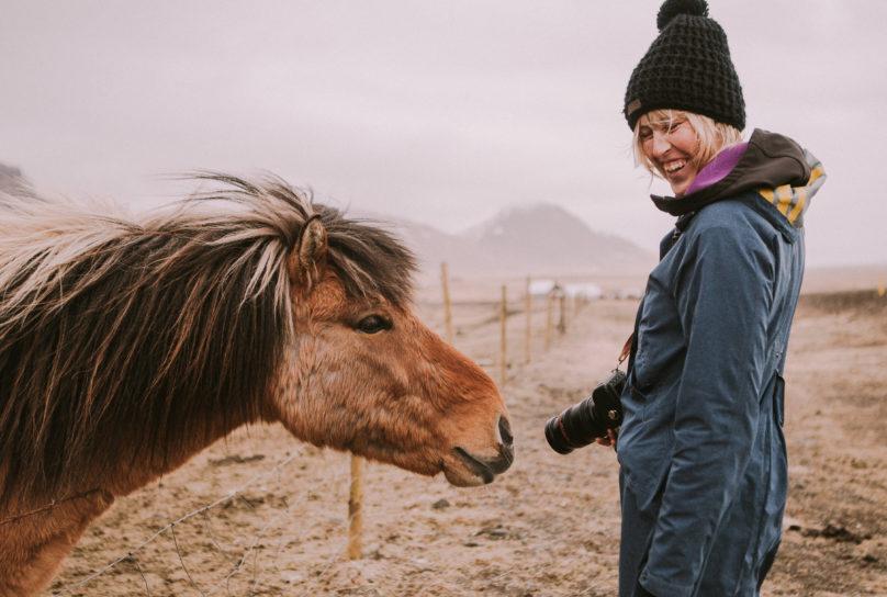 Leentje Schoofs in Iceland