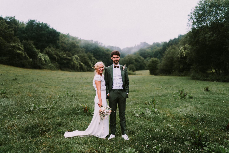 Huwelijk Jade Thomas Ferrières