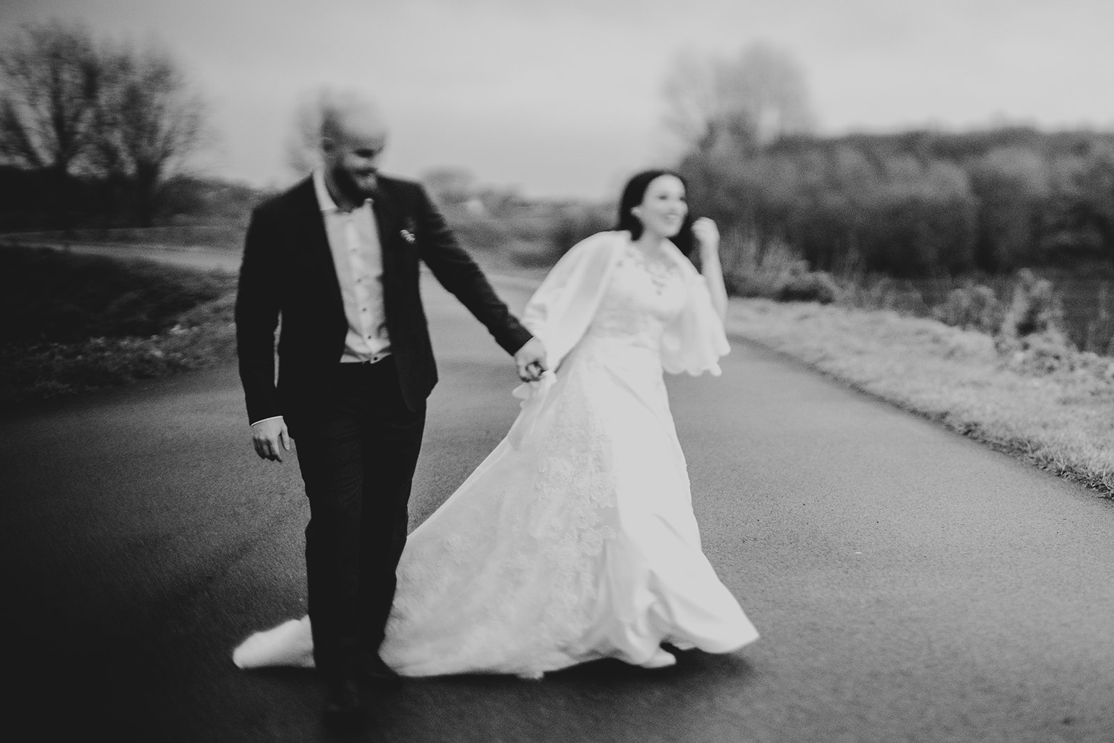 Tilt Shift wedding pictures