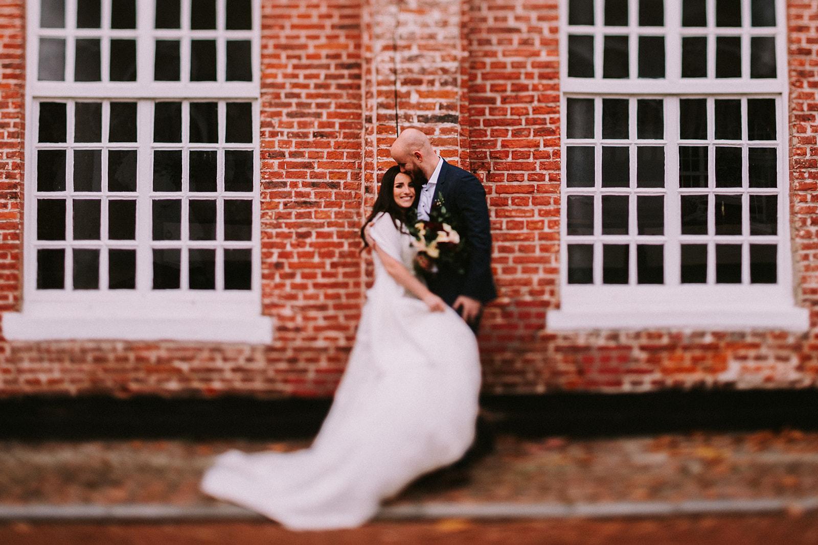 Autumn wedding portraits