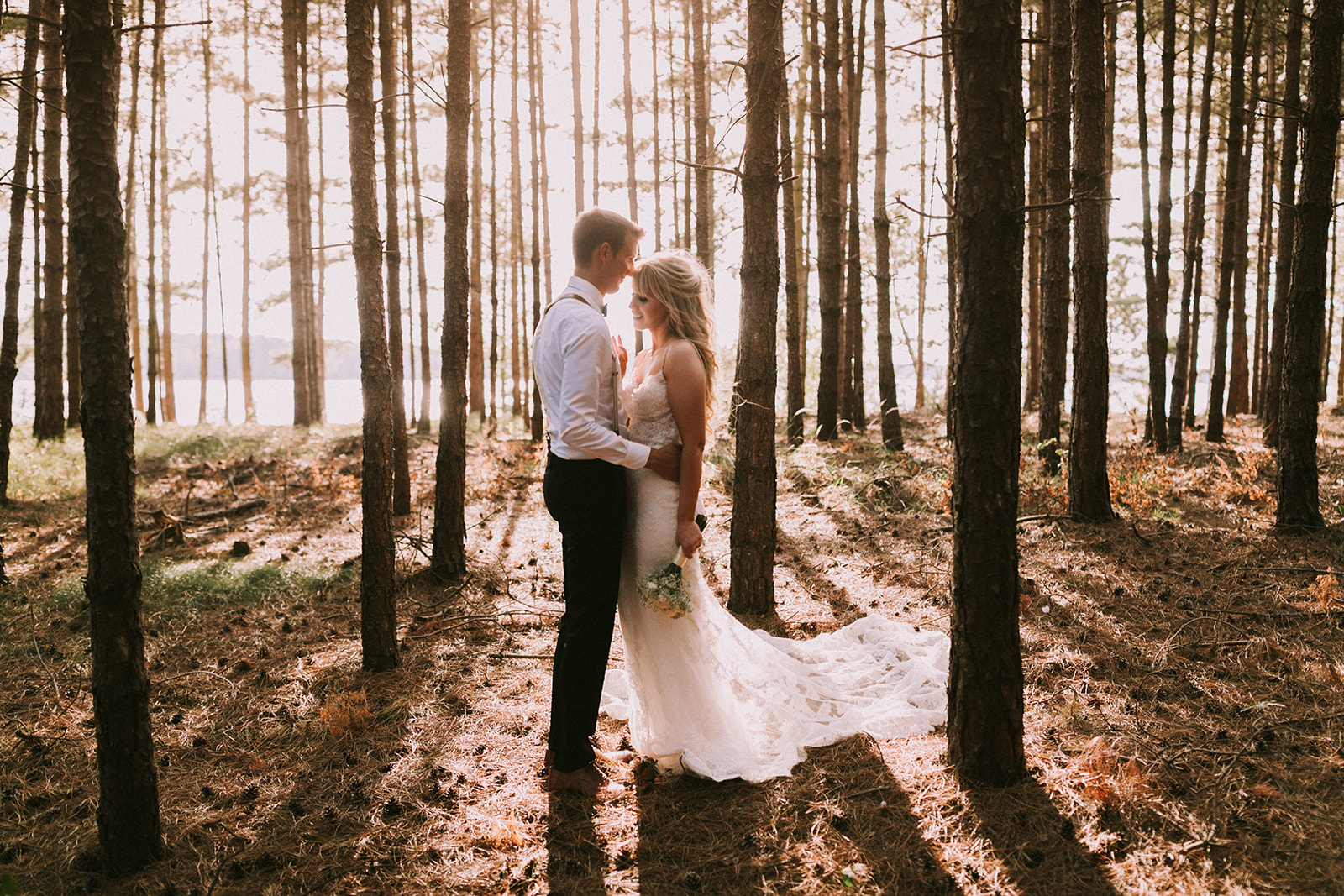 bohemian wedding shoot with beautiful light