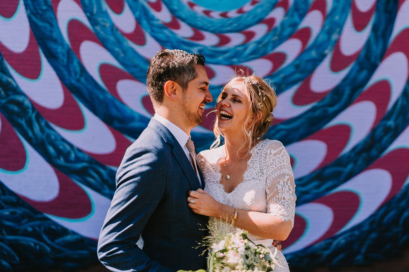 Kleurrijk huwelijk